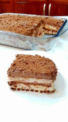 Greek Sweets, Oatmeal Pancakes, Food Snapchat, Summer Desserts, Greek Recipes, How To Make Cake, Chocolate Cake, Tiramisu, Biscuits