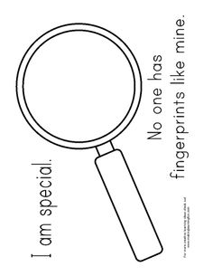 I am special magnifying glass