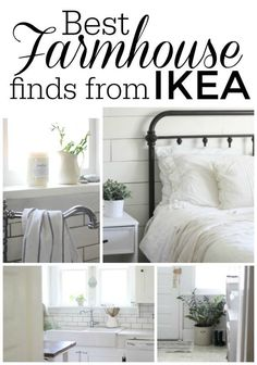The St. Louis IKEA just opened its doors a little over a year ago, and I have already made the hour long trek to the superstore at least 10 times. What kind of items am I loading into the van and hauling back to ye old Farmhouse on Boone? I'm so glad you asked!