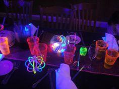 Neon party Centerpieces