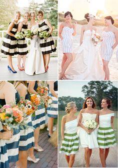 Bridesmaid Style: Stylish Stripes http://www.theperfectpalette.com/2014/05/bridesmaid-style-stylish-stripes.html