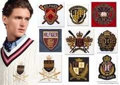 Traditional Heritage Badges by Kristiaan Passchier, via Behance