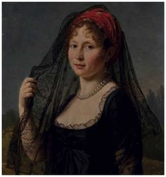 ENTOURAGE OF PASCAL FRANCIS GERARD SIMON SAYS BARON GERARD (1770-1837 PARIS ROME) PRESUMED PORTRAIT OF THE COUNTESS MARIE WALEWSKA (1786-1817)