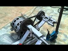 Torno casero motor lavadora. Home made lathe - YouTube Metal Tools, Electronics Projects, Blacksmithing, Arduino, Cannon, Diy, Woodworking, Outdoor Decor, Design