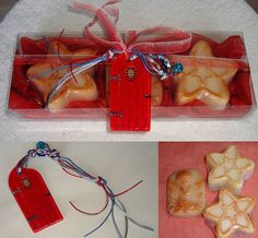 Red Christmas Gift Pack Christmas Luxury by JoannasScentedSoaps