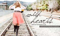 For the dreamers. The wild souls. The best friends facing the world together. The free spirit in us all. WILD HEARTS, our plus size February lookbook of plus size dresses is amazing