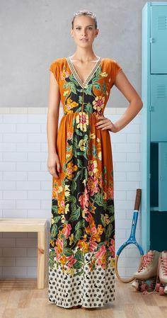 Só na Antix Store você encontra Vestido Longo Flores e Coelhos com exclusividade na internet