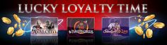 It's your LAST DAY to make the most of our Lucky Loyalty Time for this week! Play our games of the month and you could earn up to EXTRA Loyalty Points.which means MORE casino credits Play Roulette, Online Casino Games, Play Online, News Games, Loyalty, Promotion, Neon Signs, Gaming, Videogames