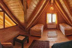 Green Cottage - O cabană superbă, chiar în grădina Carpaților - Wildventure Romania, Cottage, Curtains, Green, Home Decor, Cabin, Blinds, Decoration Home, Room Decor