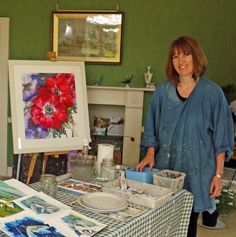 Experimental Flowers in Watercolour With Ann Blockley SWA