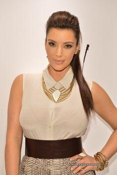 Kim Kardashian Hair and Makeup by Rob Scheppy