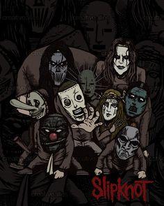 Slipknot Poster by Nukui Bogard on CreativeAllies.com