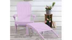 Home :: Outdoor :: Chairs :: Coast Deck Chair with Ottoman Pink