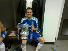 Juan Mata with the Cup !
