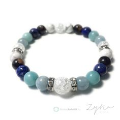 Pajzsmirigy alulműködés tüneteit csökkentő ásvány ékszer szett Fossils, Dangles, Beaded Bracelets, Pearls, Lapis Lazuli, Artist, Image, Crystals, Jewelry