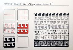 這是心亞投稿的15個圖樣1.2(ONE.TWO) & I.S They are very similar pattern,just mirroring   Can be used to
