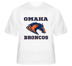 Denver Broncos Omaha Football T-Shirt  #nfl #denver #broncos #manning #18 #peyton #omaha