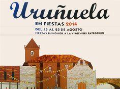 #Uruñuela celebrará las #fiestas patronales en honor a la Virgen del Patrocinio del 15 al 23 de agosto de 2014.  ♪ ♫ #FiestasRiojanas ...♪ ♫