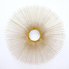 70s Sunburst Wall Sculpture now featured on Fab.