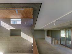 Exhibition Hall in Bertamiráns is a minimalist building located in Galicia