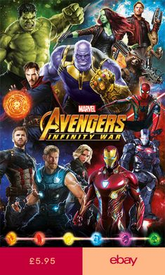 145bc984a7d2 Avengers  Infinity War (Characters) - Maxi Poster 61cm x 91.5cm PP34296 -  115