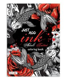 Just Add Ink Adult Tattoo Paperback Zulily Zulilyfinds