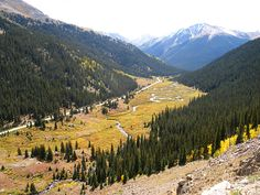 Photographs of Independence Pass  We drove here yesterday 9/11/12 and the golden leaves were beautiful.