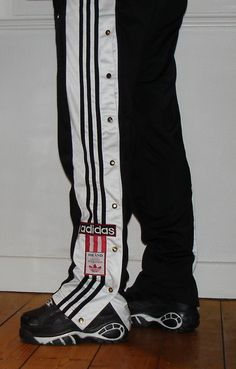 Die Adidas-Knopfhose, oder halt die vom aldi