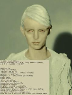 """Described as being tall, blonde humanoids, the Telosians are believed by many to be the last survivors of long lost human civilizations on Earth. There are those that say they are the survivors of the cataclysms that sunk Atlantis and Lemuria, while another school of thought believes they are much older than that. Their name derives from the ancient Greek word """"telos"""" meaning """"end' or """"purpose."""""""