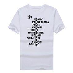 2017-Men-2016-2017-Squad-T-shirt-Short-Sleeve-T-SHIRT-Men-s-higuain-buffon-bonucci.jpg (891×891)