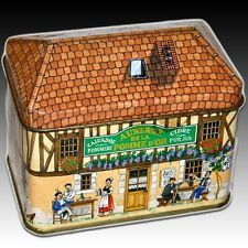 1000 images about vintage tin box village house on for Village craft container home
