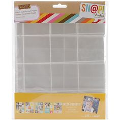 Simple Stories Snatp! Insta Pocket Pages for 6 by 8-Inch Binders Variety Pack, 10-Pack
