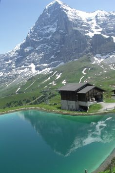 Mountain Cabin, The Alps, Switzerland