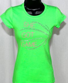 Hey, I found this really awesome Etsy listing at http://www.etsy.com/listing/155479794/she-got-game-bling-rhinestone-t-shirt