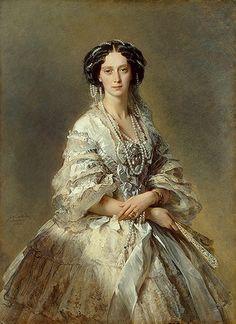 Winterhalter portrait of Maria Alexandrovna,Empress of Russia 1857