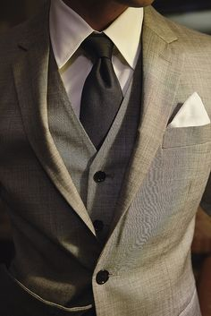 Shoot for Indochino | Flickr - Photo Sharing!...... Three-piece suit perfection