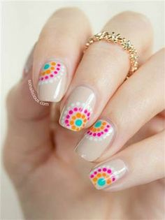 15 Easy Pretty Nail Art Designs, Ideas, Trends & Stickers 2014