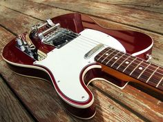 Fender Telecaster Red & Bigsby