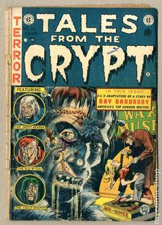 Wanted Post: Tales From the Crypt Earn money helping other people find collectible comic books at FyndIt! Find the comic online or in a store, make a match and earn a couple bucks for helping someone add to their collection. Vintage Comic Books, Vintage Comics, Comic Books Art, Comic Art, Science Fiction, Pulp Fiction, Sci Fi Comics, Horror Comics, Crime Comics