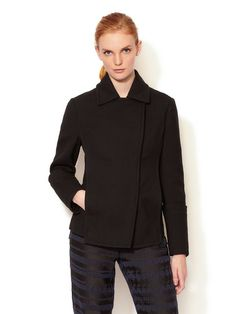 Hidden Snap Closure Jacket by 3.1 Phillip Lim at Gilt