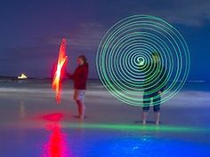 Chris Bray Photography Tips: Painting with Light Photography