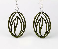 Seed of Growth  Laser Cut Earrings from by GreenTreeJewelry, $12.95