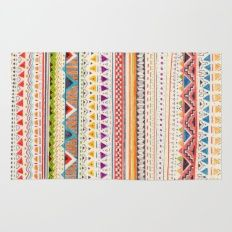 Rug featuring Pattern by Sandra Dieckmann