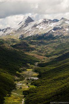 Sul dos Andes do ar