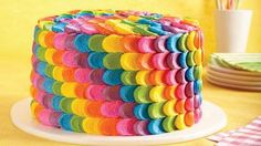 12 Rainbow Treats to Make Now  Take a bite out of the rainbow with desserts that are as stunning as they are sweet! February 13, 2015