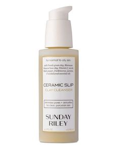 Ceramic Slip Cleanser  by Sunday Riley