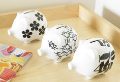graphic piggy banks from notNeutral!