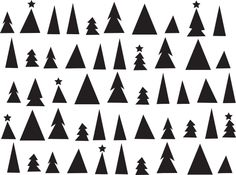 Printable pattern for a Christmas placemat