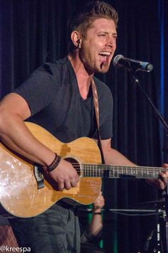 Is this a rock star or Jensen Ackles? Yep, it is. - VanCon 2015