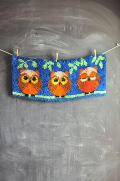 Vintage Owl Rug